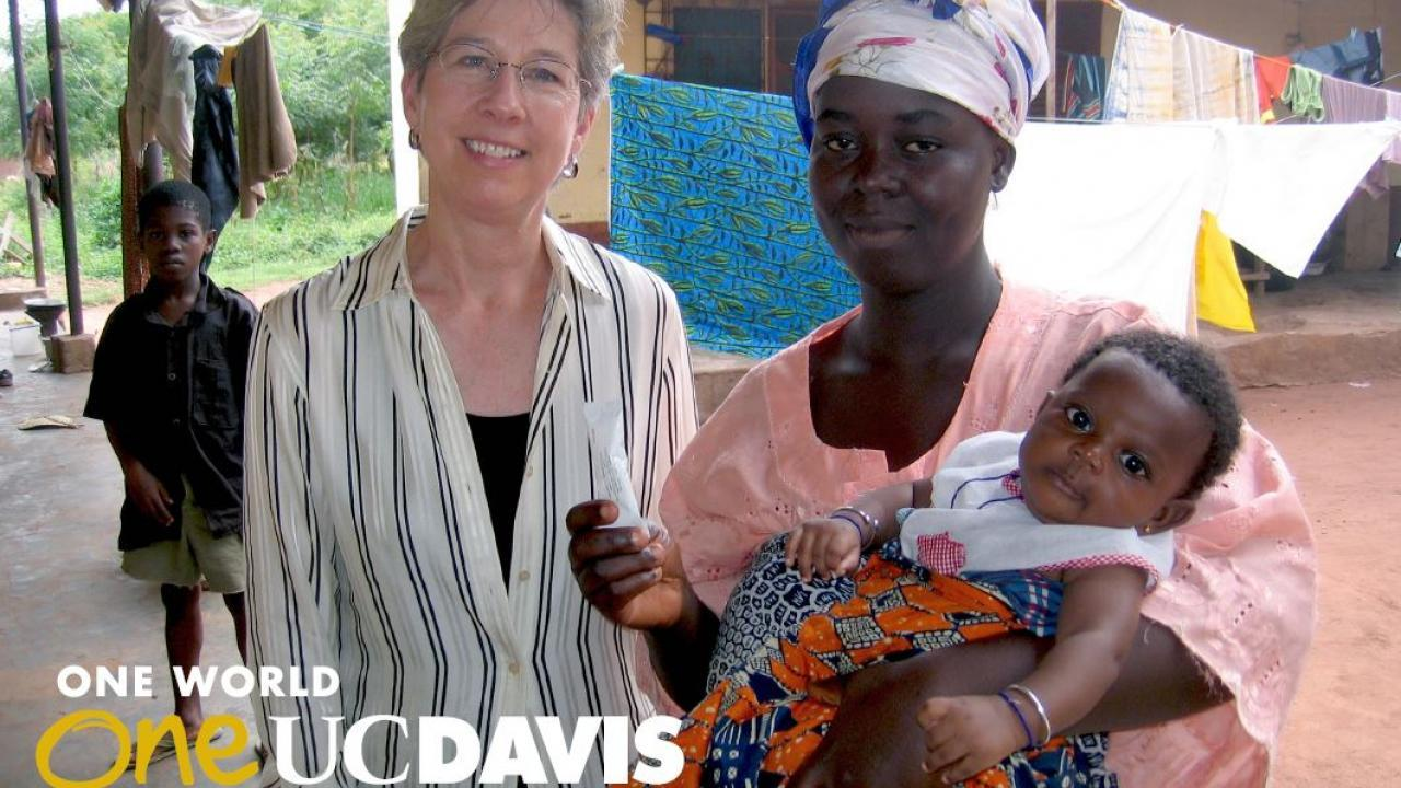 Distinguished Professor of Nutrition Dr. Kathryn Dewey (above left) has helped change global policies that affect the health and well-being of the youngest and most vulnerable members of society. An endowed faculty position will ensure that this critical work continues into the future.